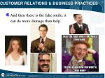 customer relations business practices17