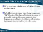 customer relations business practices19