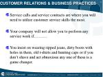 customer relations business practices5