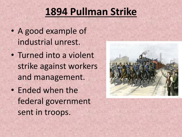1894 Pullman Strike