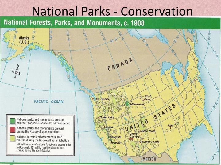 National Parks - Conservation