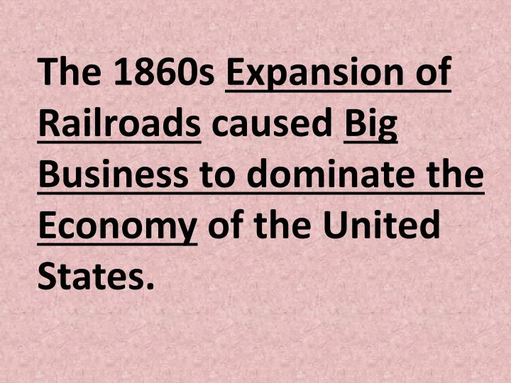 The 1860s