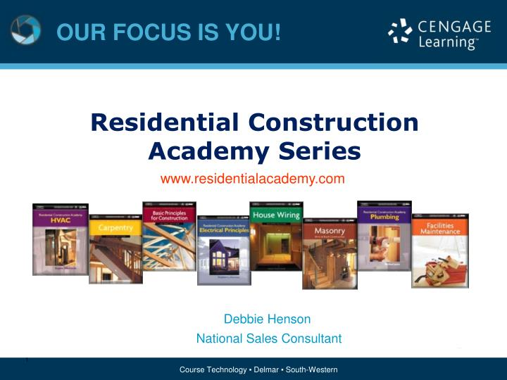 residential construction academy series - powerpoint ppt presentation