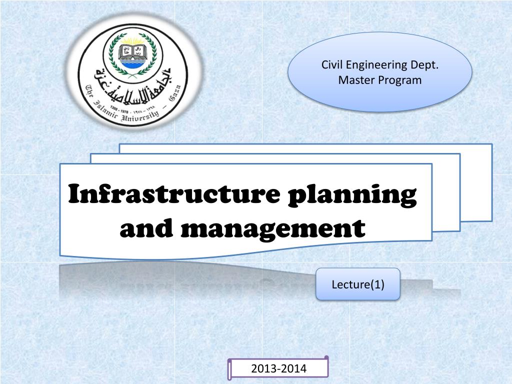 PPT - Infrastructure planning and management PowerPoint Presentation