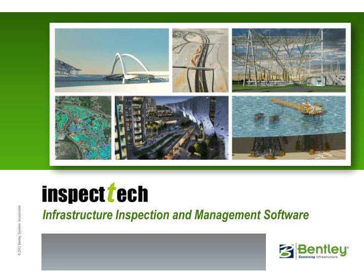 ecttech infrastructure inspection and management software n.