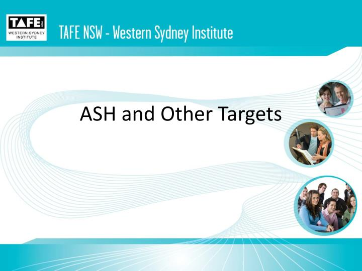 ash and other targets n.
