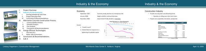 Industry & the Economy