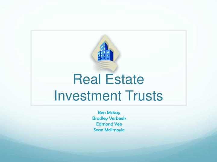 real estate investment trusts n.