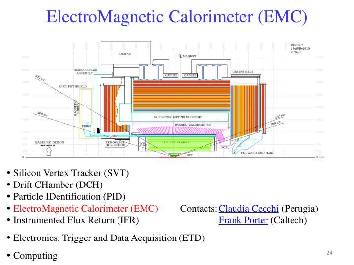 ElectroMagnetic Calorimeter (EMC)