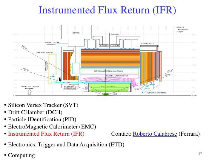 Instrumented Flux Return (IFR)