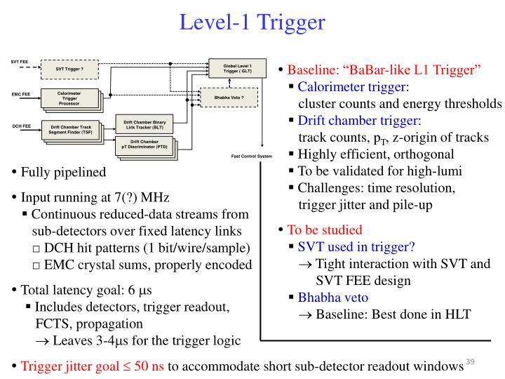 Level-1 Trigger