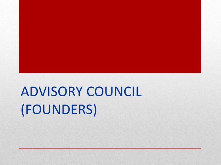 Advisory Council (founders)