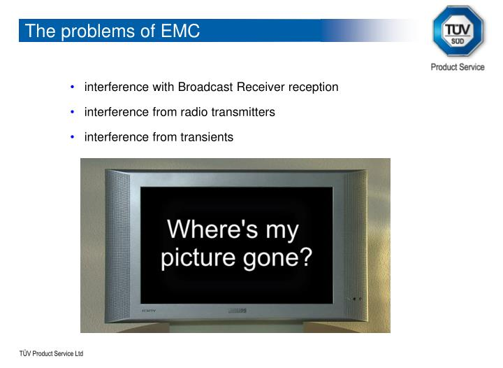 The problems of EMC