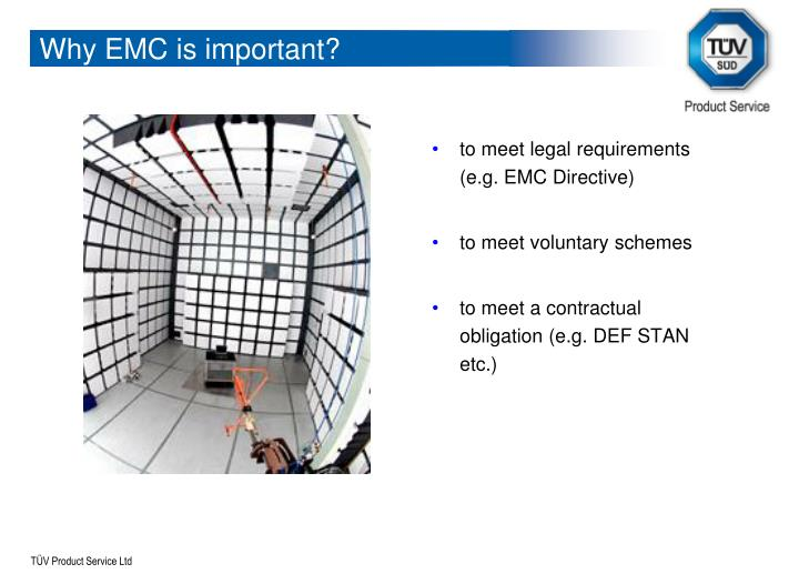 Why EMC is important?