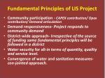 fundamental principles of lis project