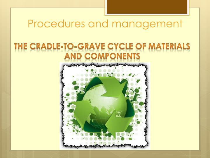 Procedures and management