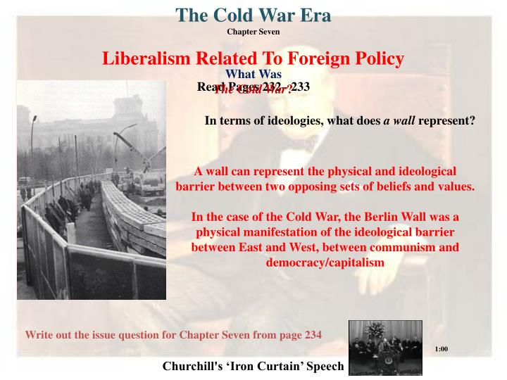"""an analysis of ideological differences and power struggle in the cold war The vietnam war exemplifies the escalation of a civil war to an international war, as an effect of cold war politics, marked by insecurity and distrust  two sides, the """"hawks"""" (those who support military action) and the """"doves"""" (those against military action) ideological differences can be used to explain the war at two levels."""