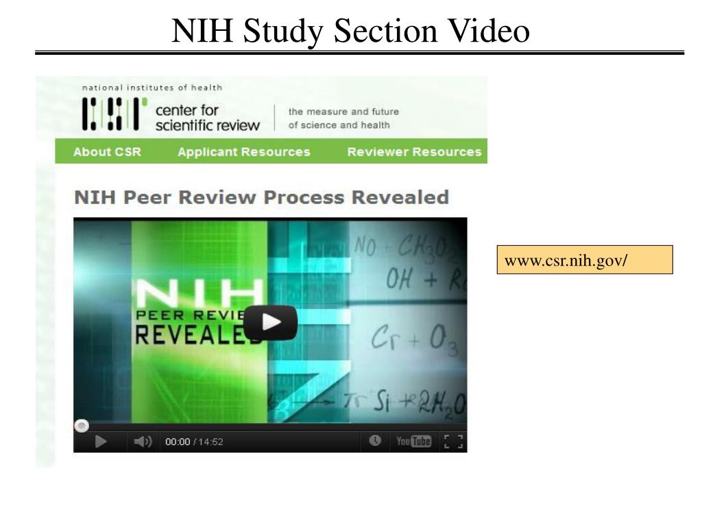 PPT - Building the NIH Grant Proposal PowerPoint ...