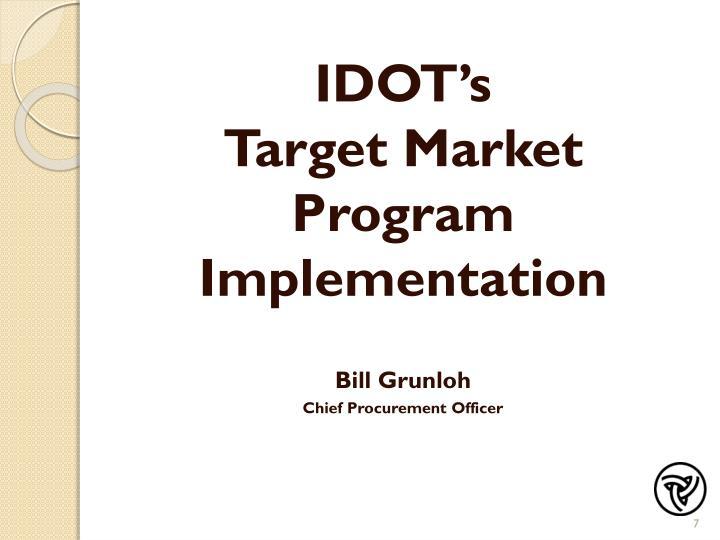 IDOT's