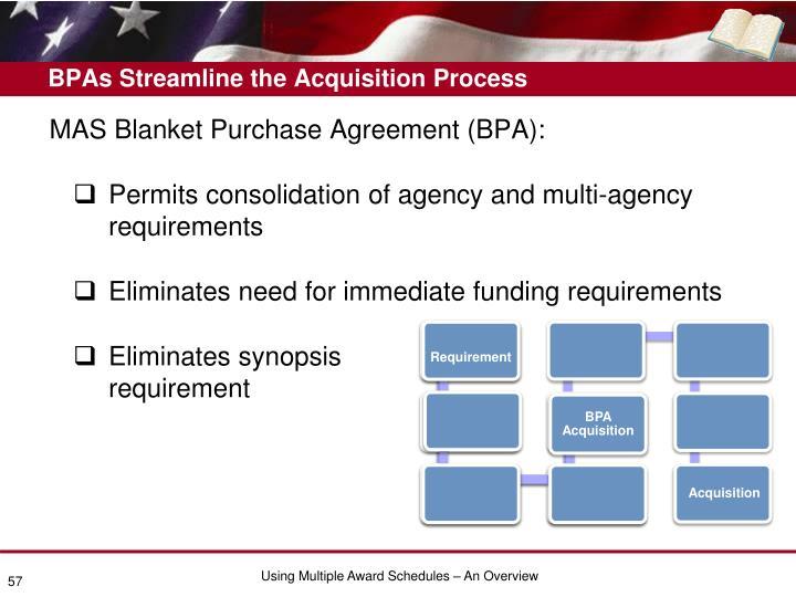 BPAs Streamline the Acquisition Process