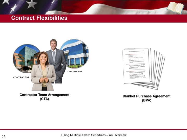 Contract Flexibilities