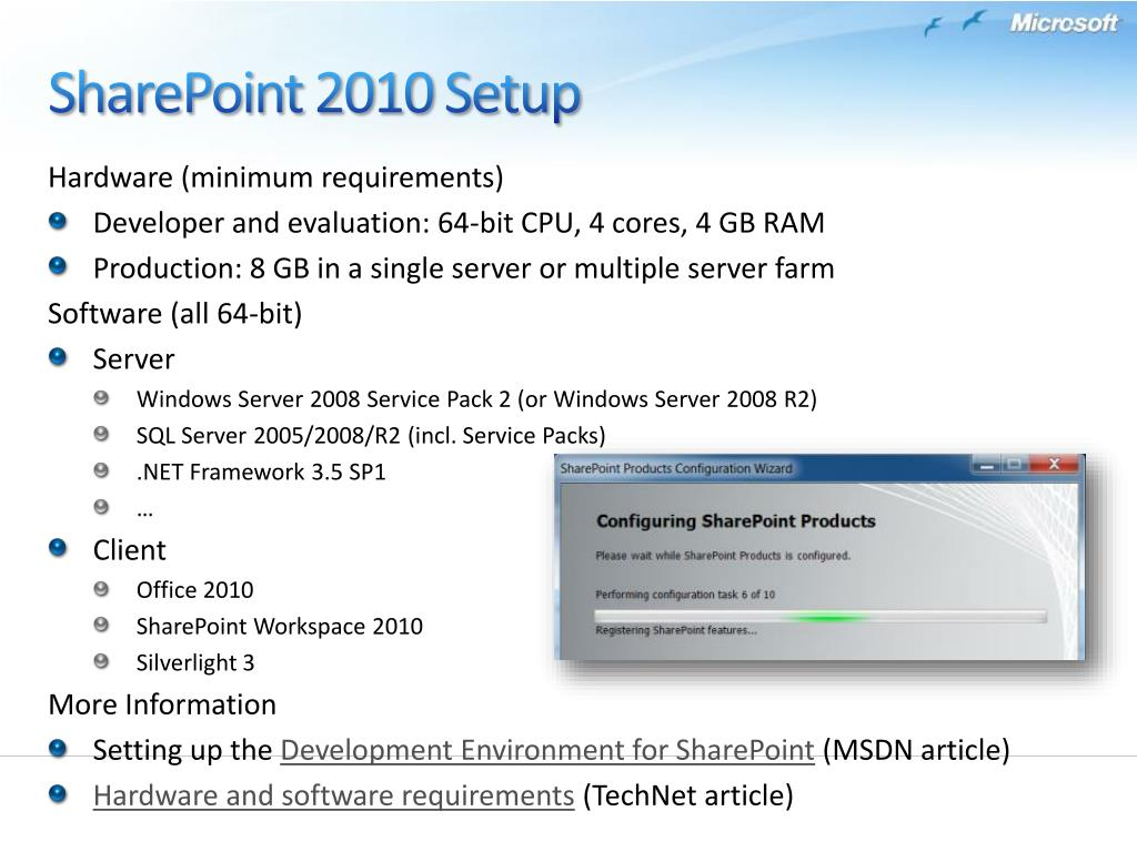PPT - SharePoint 2010 Composites & RAD PowerPoint