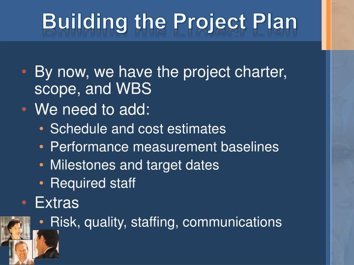 Building the Project Plan