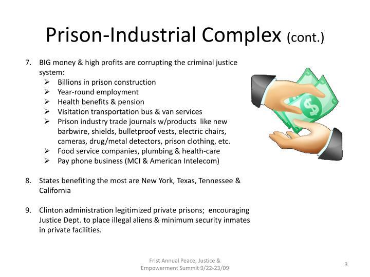 Prison industrial complex cont1