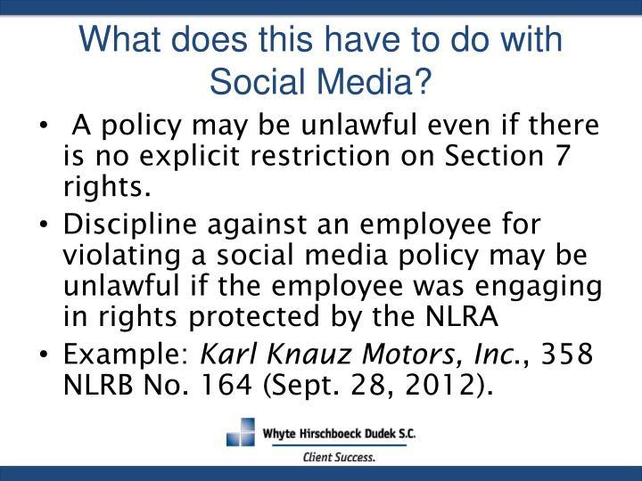 social media policy template sample adorable 7 documents word karl knauz motors nlrb impremedia net