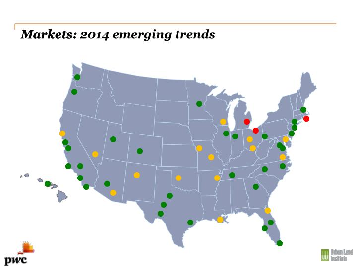 Markets: 2014 emerging trends