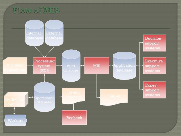 Flow of MIS