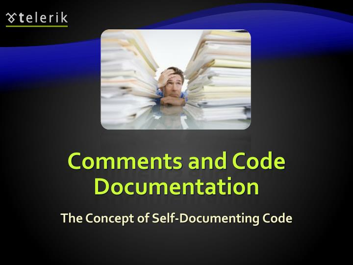 Comments and Code Documentation