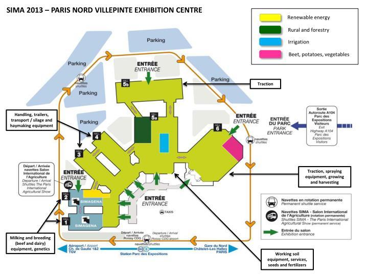 SIMA 2013 – PARIS NORD VILLEPINTE EXHIBITION CENTRE