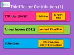 third sector contribution 1