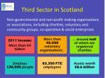 third sector in scotland