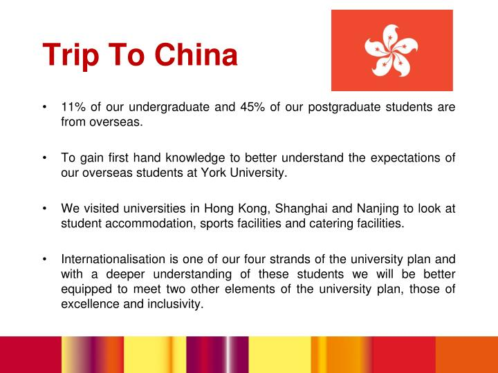11% of our undergraduate and 45% of our postgraduate students are from overseas.