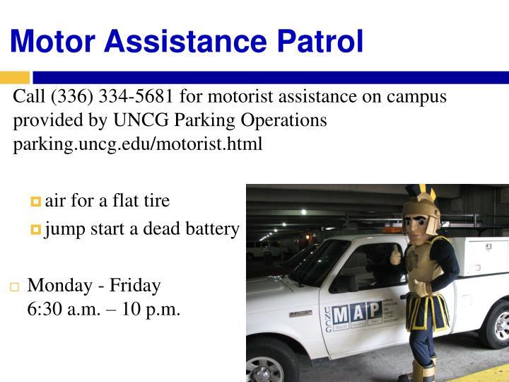 Motor Assistance Patrol