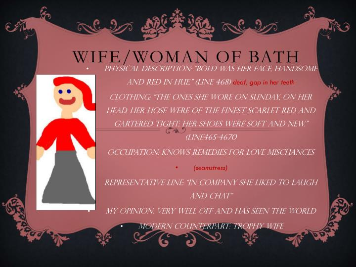 Wife/Woman of Bath