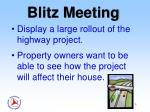 blitz meeting