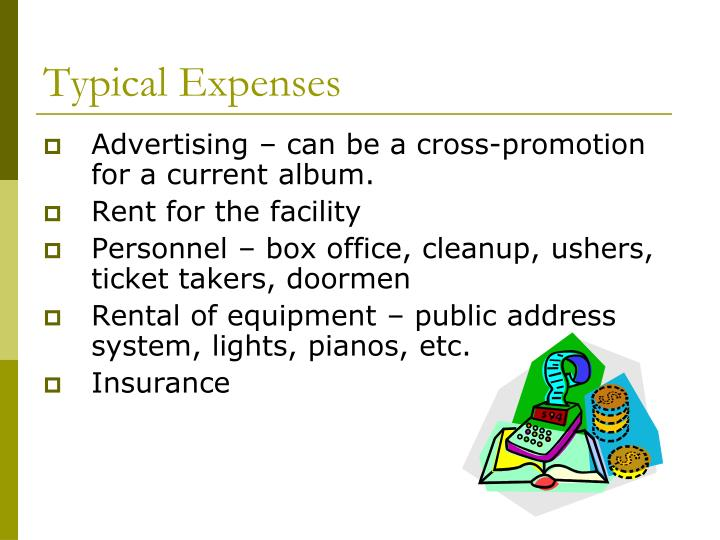 Typical Expenses