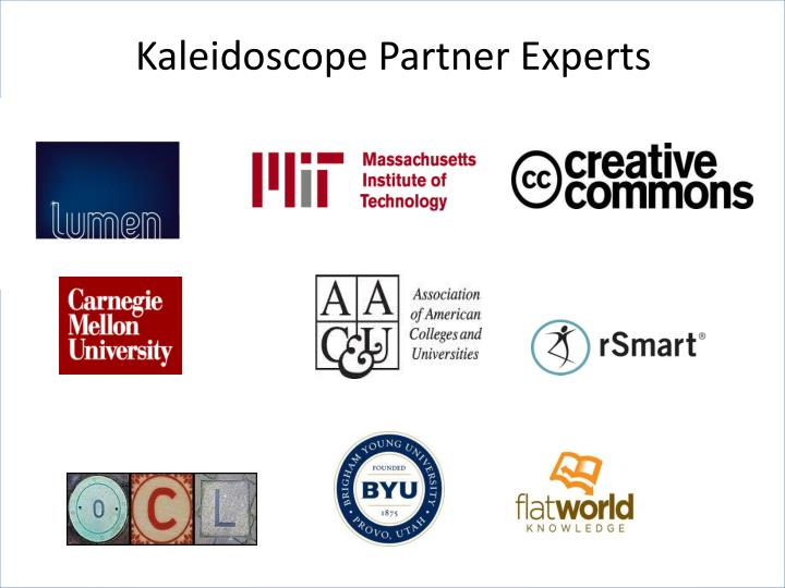 Kaleidoscope Partner Experts