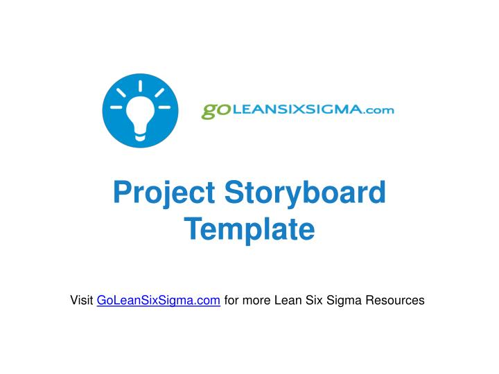 Ppt  Project Storyboard Template Powerpoint Presentation  Id