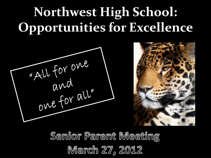 northwest high school opportunities for excellence n.