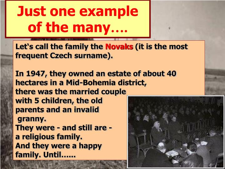czech surnames essay A collection of genealogical profiles related to czech (bohemian) american jews bohemian and czech jews in american and leninism: an essay in the.