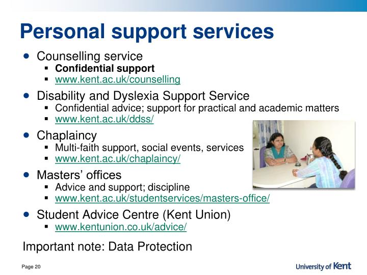 Personal support services