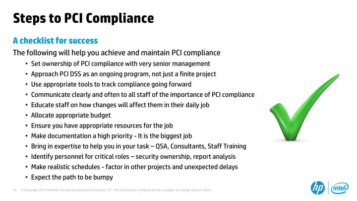 Steps to PCI Compliance