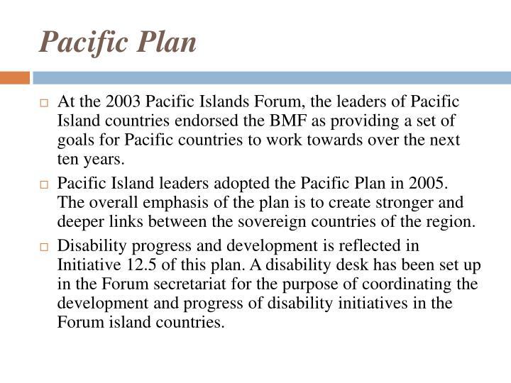 Pacific Plan