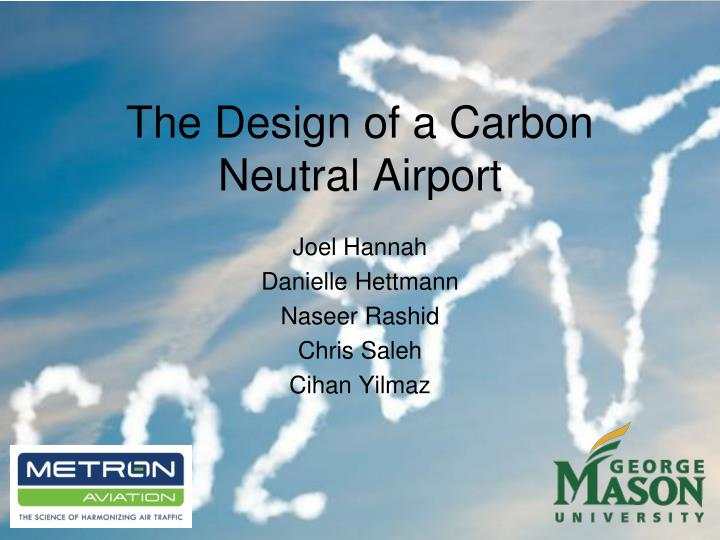 the design of a carbon neutral airport n.