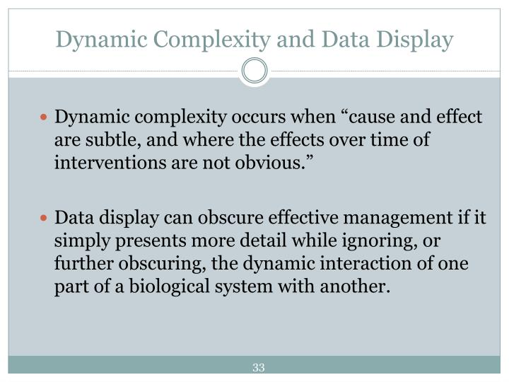 Dynamic Complexity and Data