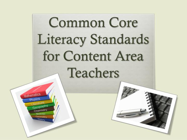 common core literacy standards for content area teachers n.